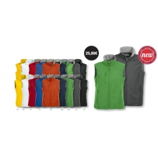 CHALECO SOFTSHELL CLIQUE BASIC HOMBRE Y MUJER