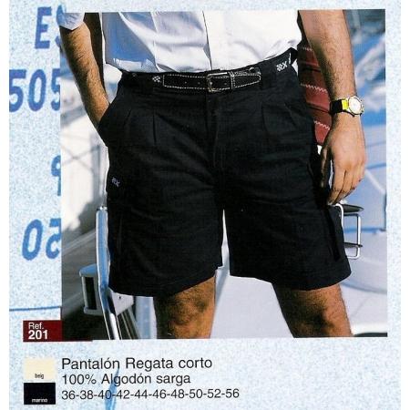PANTALON CORTO MODELO REGATA